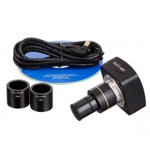 C?MARA DIGITAL PARA MICROSCOPIO 8MP USB2.0   SOFTWARE – AMSCOPE