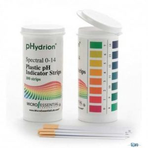 PAPEL PH 0 A 14 HYDRION EN VIAL – MICROESSENTIAL