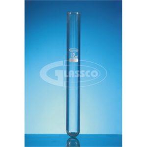 TUBO DE ENSAYO BORO 3.3 CON BORDE – GLASSCO